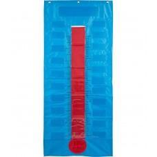 Thermometer/Goal Gauge Pocket Chart