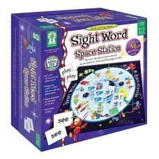 Sight Word Space Station Board Game