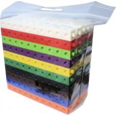 Multi - Link (Snap Link) Cubes , Set of 500pcs in durable ziplog