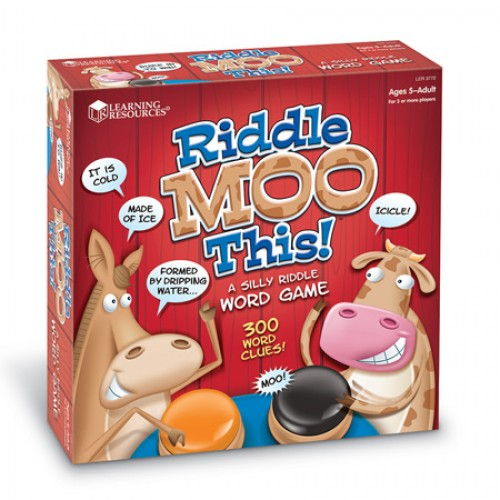 Riddle Moo -A Silly Riddle Word Game