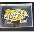Large Stamp Pad Black