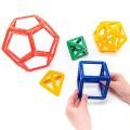 Polydron Frameworks Platonic Solids Set
