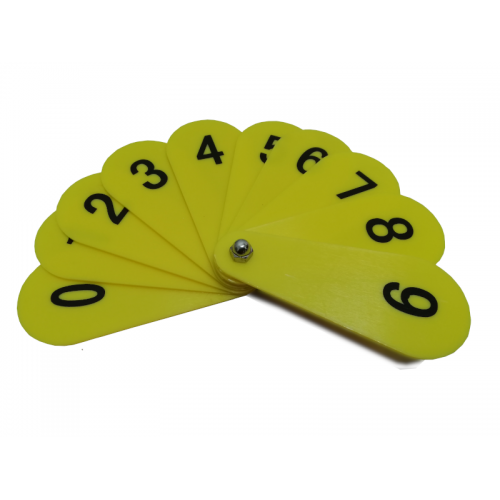 Number Fan 0-9