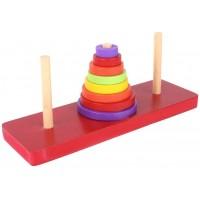 Tower of Hanoi - Math IQ game