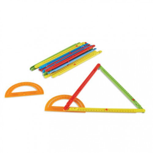 Adjustable Length Magnetic Teaching Angle Bars