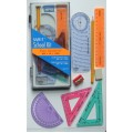 Student Draw and Measure Set with mmArc Compass Set