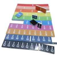 Magnetic Fraction Tiles Set of 51