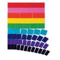 Large Teaching Magnetic Fraction Blank Tiles, Set of 51