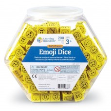 Soft Foam Emoji Dice