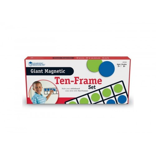 Giant Magnetic Ten Frame Set