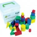 Soft Foam 3-D Mini Geometric Solid