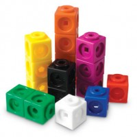 Multi-Link Cubes, Set of 500 in a container