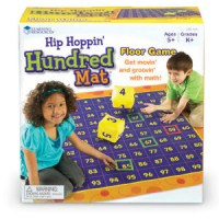 Hip Hoppin Hundred Mat - Floor Game
