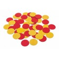 Large Magnetic Two Colour Double-Sided Counters Set of 50pc (4cm)