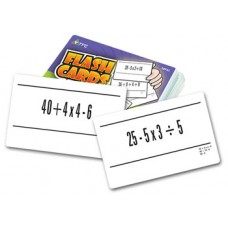 Order of Ops Flash Cards
