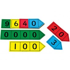 Magnetic Place Value Arrow Set of 40pcs