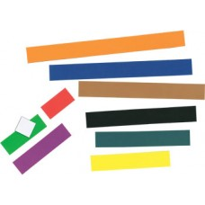 Large Magnetic Coloured Rods